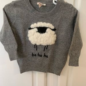 J.Crew adorable sweater. Size 12-18 months